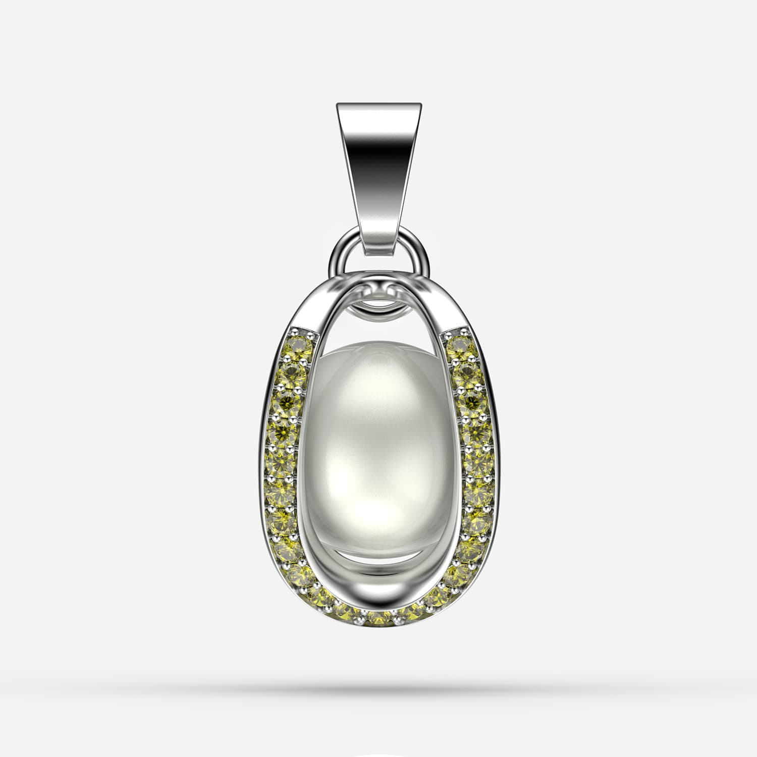 Citrin  Endless Passion Pendant