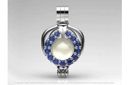 Sapphire Katra Pendant