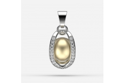 Endless Passion South Sea Pearl Pendant